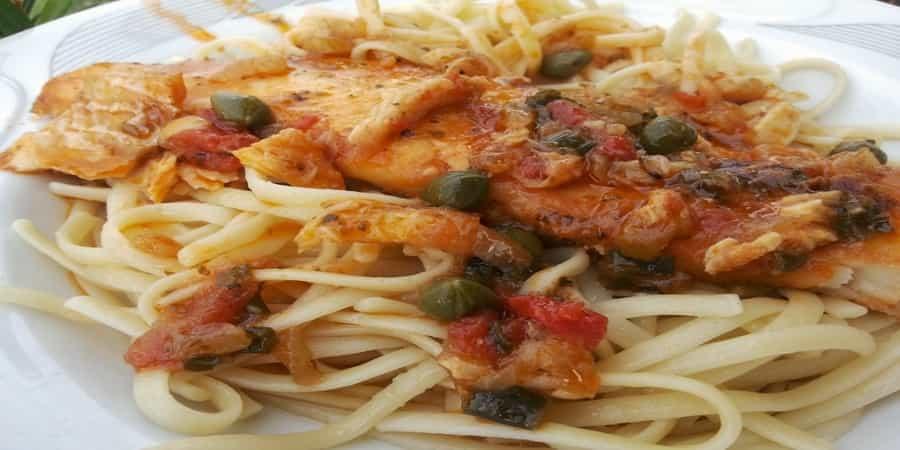 Ζυμαρικά με ψάρι