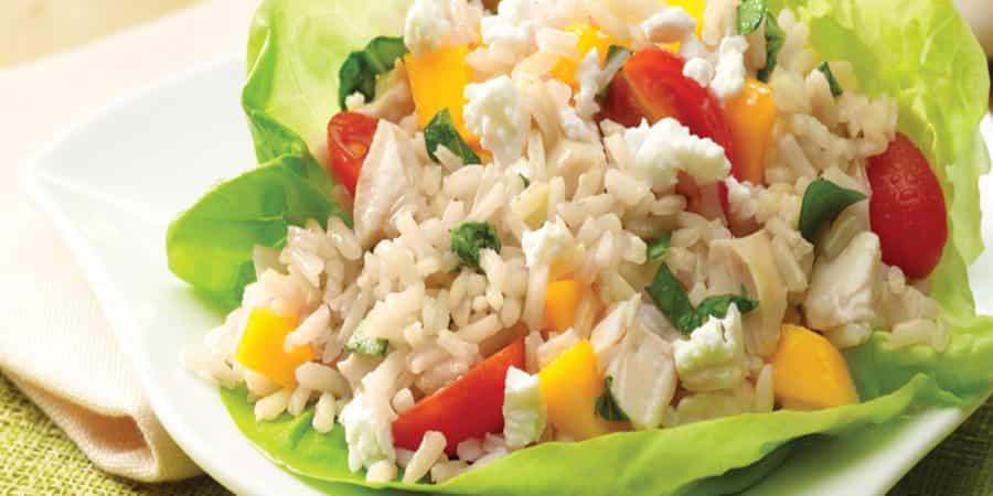Σαλάτα με ρύζι