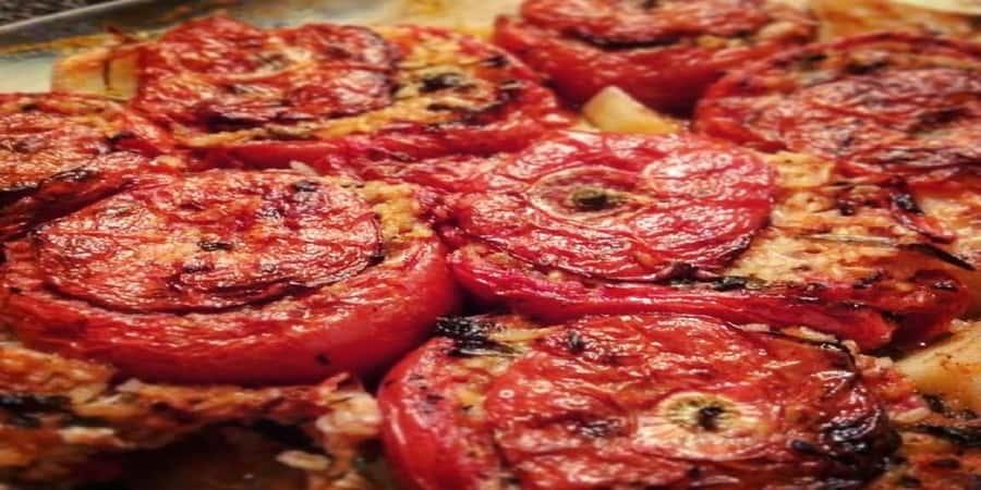 γεμιστά με ντομάτες